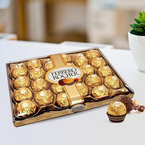 box of 24 pcs Luscious Ferrero Rocher Chocolates