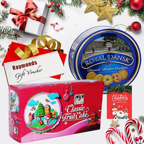 Wonderful X-mas Hamper with Lip Smacking Delicacy