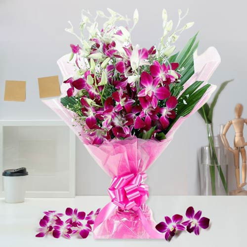 Truly Captivating Bunch of Orchids
