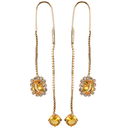 Daintily Swish Sui Dhaga Earrings from Avon