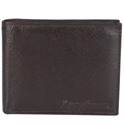 Rocking Brown Coloured Gents Wallet of Leather from Longhorn