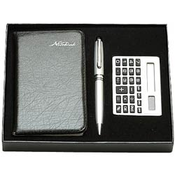 Unique gift pack of Diary , Calculator and Pen