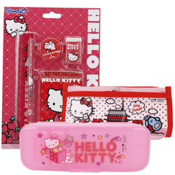 Exclusive School Time Hello Kitty Stationery Set