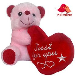 Stylish Teddy Bear with Touch of Unconditional Love
