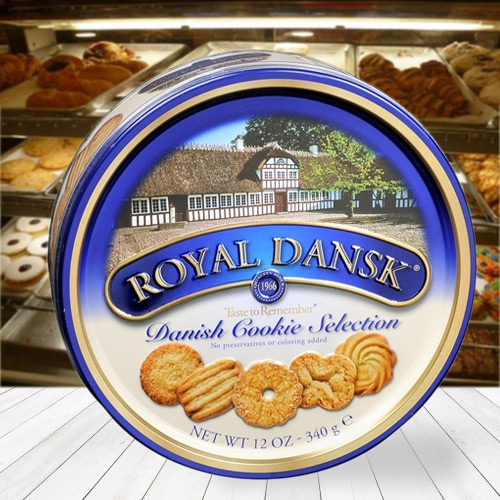 Tasty Dansk Assorted Cookies
