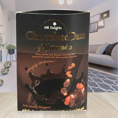 Scrumptious Date Almond Chocolates