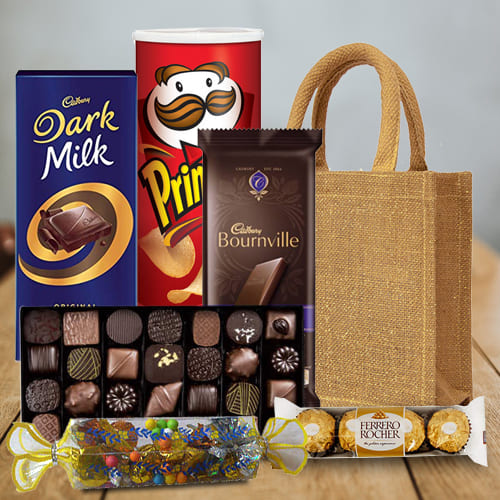 Irresistible Celebration Chocolates Hamper