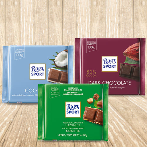 Mixed Chocos Pack from Ritter Sport