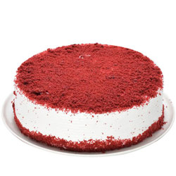 Fresh-Baked Eggless Red Velvet Cake