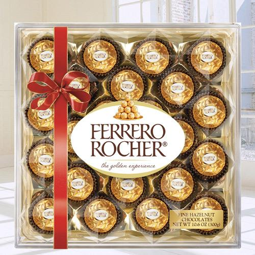 Yummy Ferrero Rocher Chocolate Box
