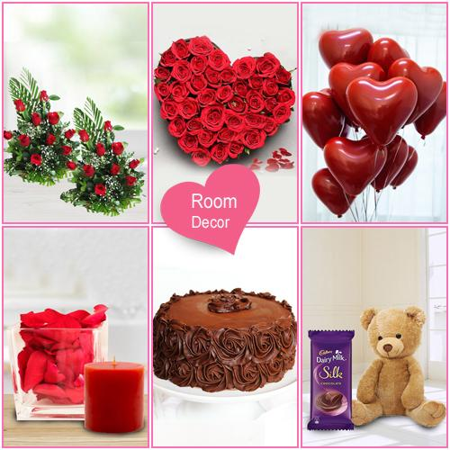 Fantastic Be My Valentine Gift Hamper