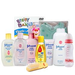 Stunning Johnson Baby Care Kit
