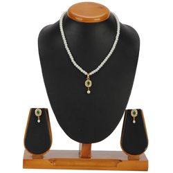 Admirable Pearl Pendent  N  Earring Set for Ladies