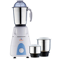 Exquisite Mixer Grinder Supplemented with 3 Jars from Bajaj