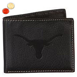 Stunning Longhorn Gents Wallet in Black with free Roli Tilak and Chawal