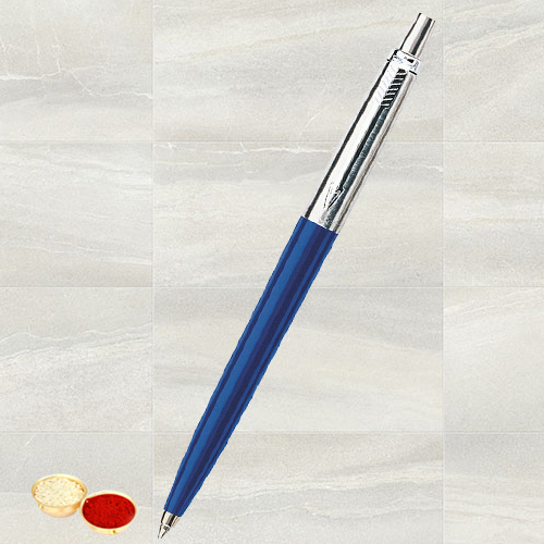 Pen  from Parker with free Roli Tilak and Chawal