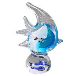 Stunning Crystal Glass Fish