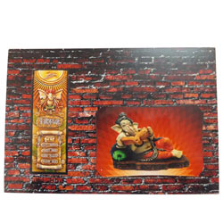 Auspicious Wall Potrait of Lord Ganesha