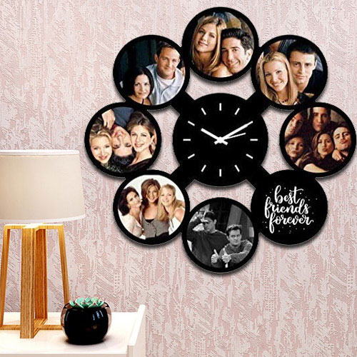 Exquisite Personalized Photo Wall Clock