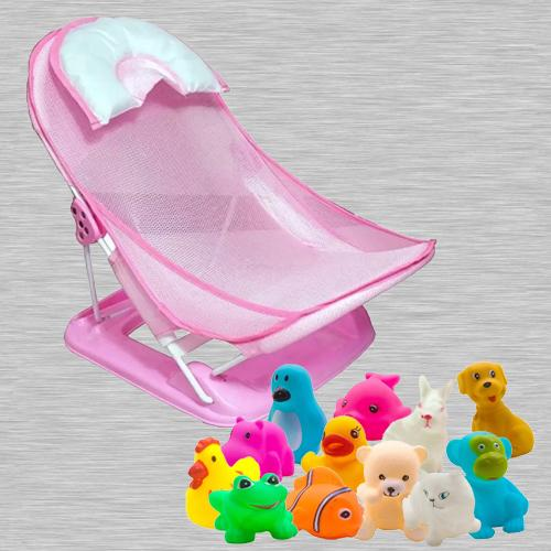 Marvelous Baby Bather N Animals Swimming Water Toys