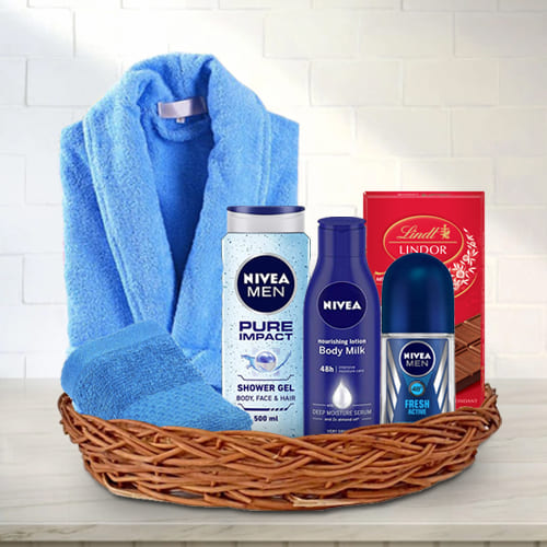 Refreshing Gift Basket for Him