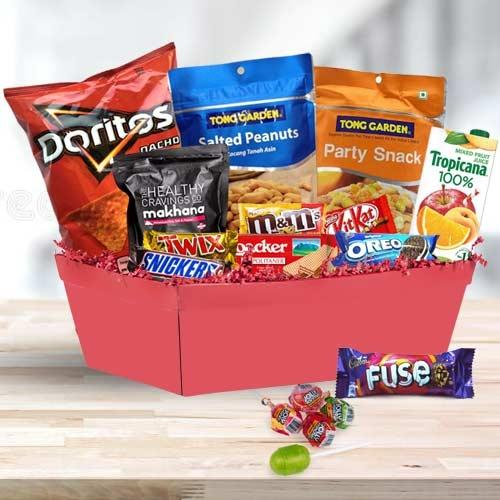 Delicious Snacks Gift Hamper