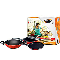 Nirlep Aspa 4pc non stick gift set