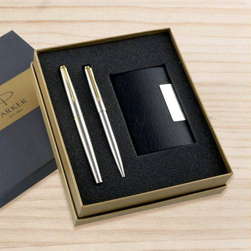 Marvelous Pen with Card Holder