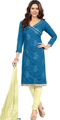 Gaiety-of-Grace Santoon Silk Salwar Suit