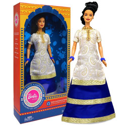 Barbie Doll in India (New Visits Ajanta Caves)