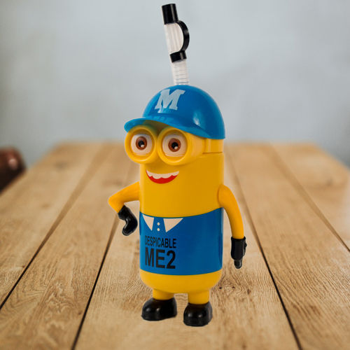 Fancy Minions Water Bottle