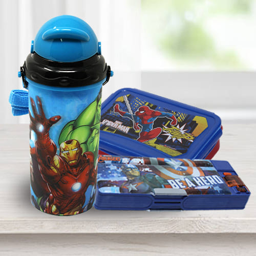Remarkable Avengers School Utility Gift Combo for Kids