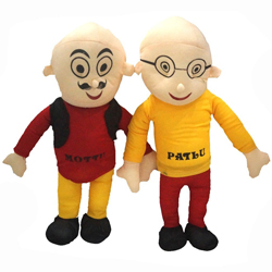 Huggable Motu Patlu Stuffed Toys