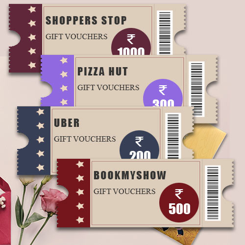 Shop n Enjoy Gift Vouchers worth INR 2000