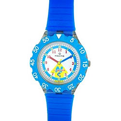 Bluish kids watch from Maxima