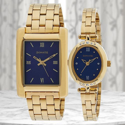 Marvelous Sonata Analog Couple Watch